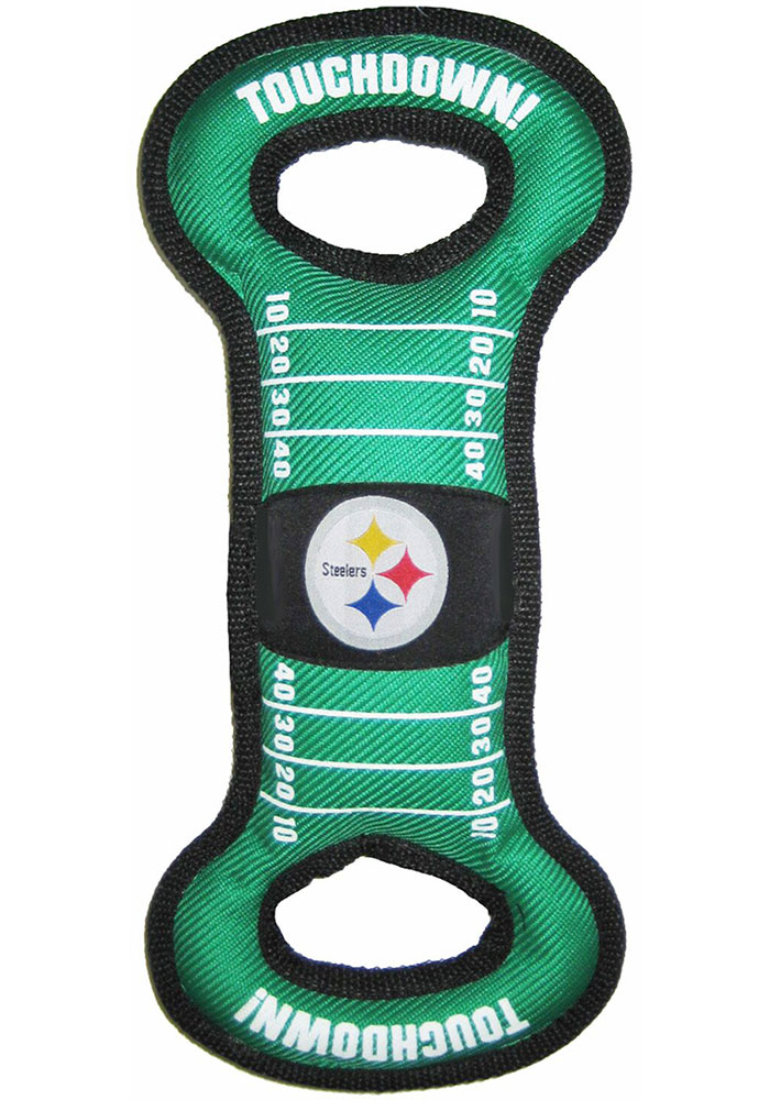 Pittsburgh Steelers Field Tug Pet Toy - Image 1