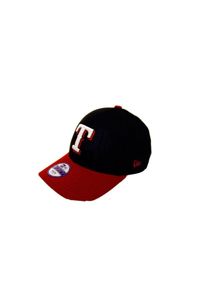Texas Rangers Red Shimmer Youth Adjustable Hat - Image 1