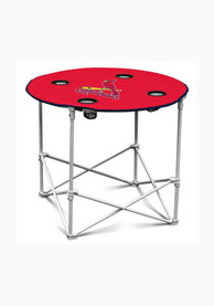 St Louis Cardinals Round Tailgate Table