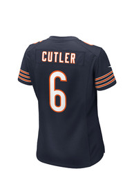 Jay Cutler Chicago Bears Womens Nike Home Game Football Jersey - Navy Blue