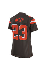 Joe Haden Cleveland Browns Womens Nike Home Game Football Jersey - Brown