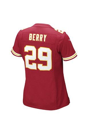 Eric Berry Nike Kansas City Chiefs Womens Red Game Football Jersey