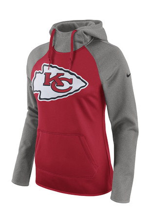 Nike Kansas City Chiefs Womens Red Tailgate All Time Hoodie