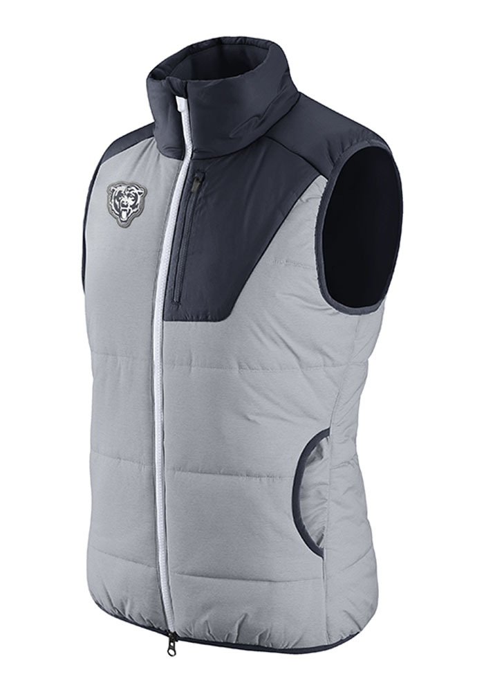 Nike Chicago Bears Womens Grey Champ Drive Vest - Image 1