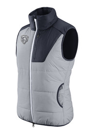 Chicago Bears Womens Nike Champ Drive Vest - Grey