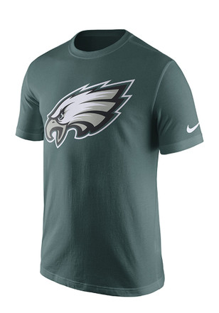 Nike Philadelphia Eagles Mens Midnight Green screen print Tee