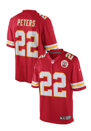 Marcus Peters Nike KC Chiefs Mens Red Limited Jersey