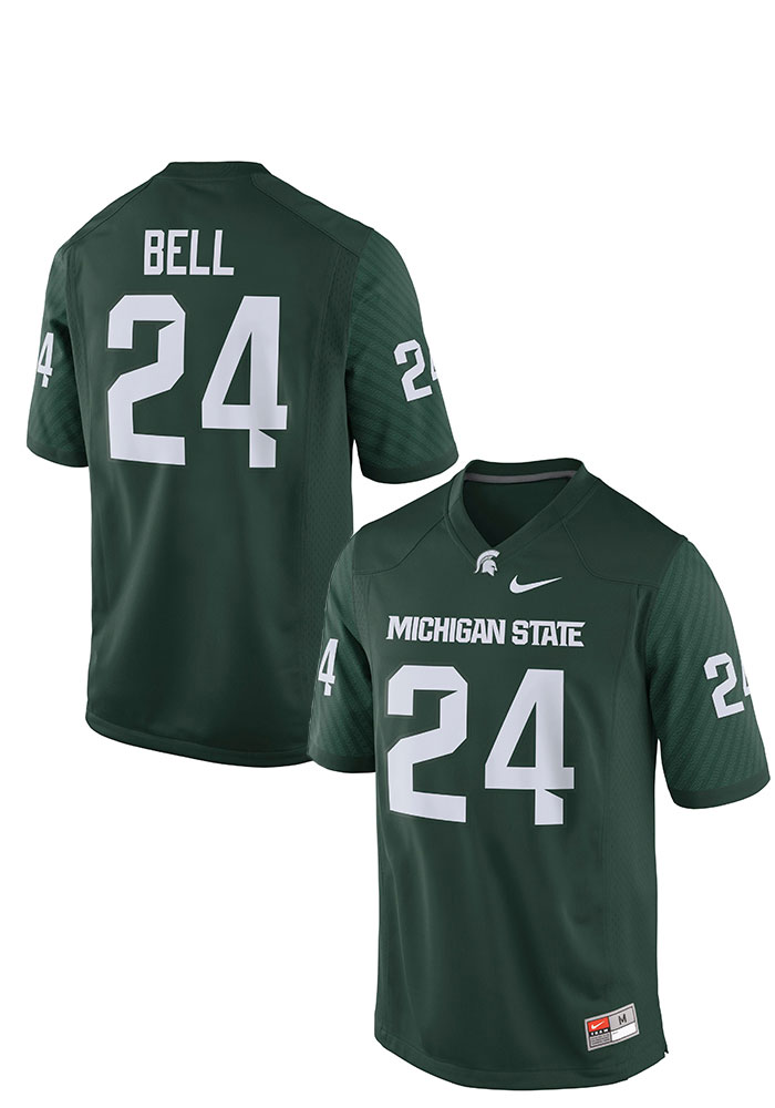 Le'Veon Bell Nike Michigan State Spartans Green Game Football Jersey - 12551604