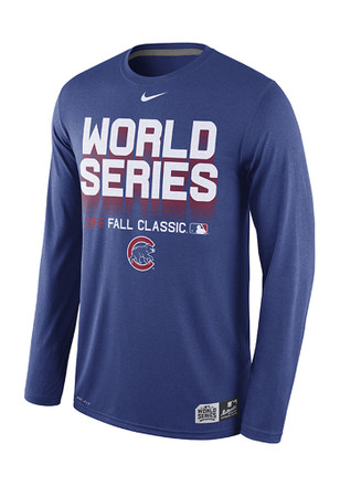 Nike Chicago Cubs Mens Blue Participant Legend Performance Tee