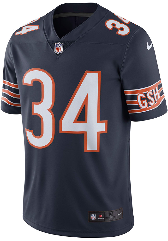 best authentic 3c365 e9109 Walter Payton Nike Chicago Bears Mens Navy Blue Home Limited Football Jersey