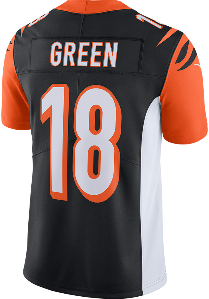 84fcce378 AJ Green Nike Cincinnati Bengals Mens Black 2017 Home Limited Football  Jersey - Image 1
