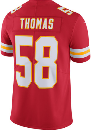 Derrick Thomas Nike Kansas City Chiefs Mens Red 2017 Home Jersey