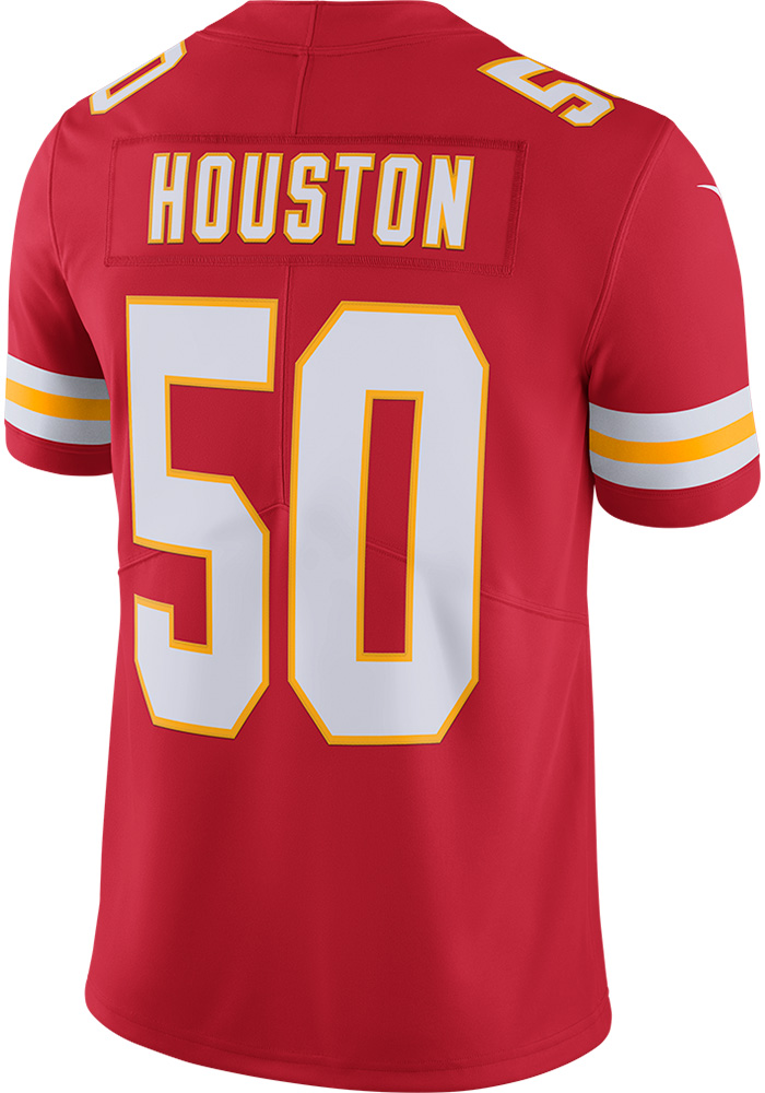 Justin Houston Nike Kansas City Chiefs Mens Red 2017 Home Limited Football Jersey - Image 1