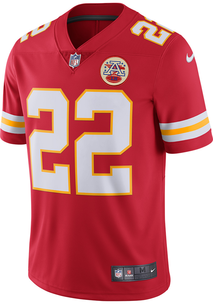 Marcus Peters Nike Kansas City Chiefs Mens Red 2017 Home Limited Football Jersey - Image 1