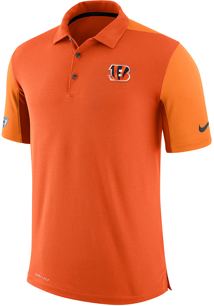Cincinnati Bengals Nike Team Issue Polo Shirt - Orange
