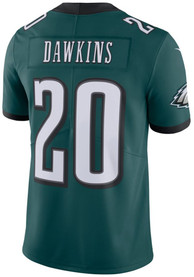 differently 7aacb 30f46 Brian Dawkins Nike Philadelphia Eagles Midnight Green Home Jersey