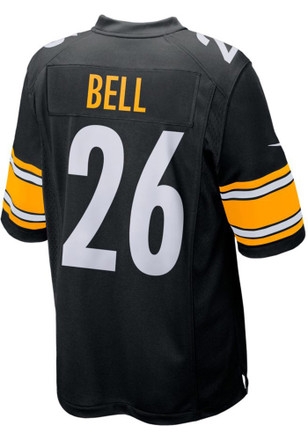 Le'Veon Bell Nike Pittsburgh Steelers Mens Black 2017 Home Jersey