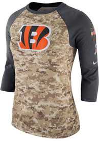new concept 1ee8a 72e8e Shop Cincinnati Bengals Salute To Service Apparel