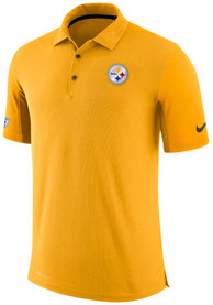 Pittsburgh Steelers Nike Team Issued Polo Shirt - Gold