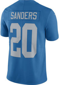 Barry Sanders Detroit Lions Nike Home Limited Football Jersey - Blue