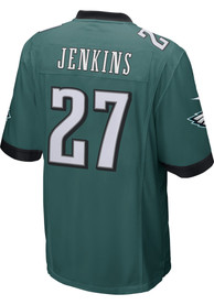 Malcolm Jenkins Philadelphia Eagles Nike Home Game Football Jersey - Midnight Green