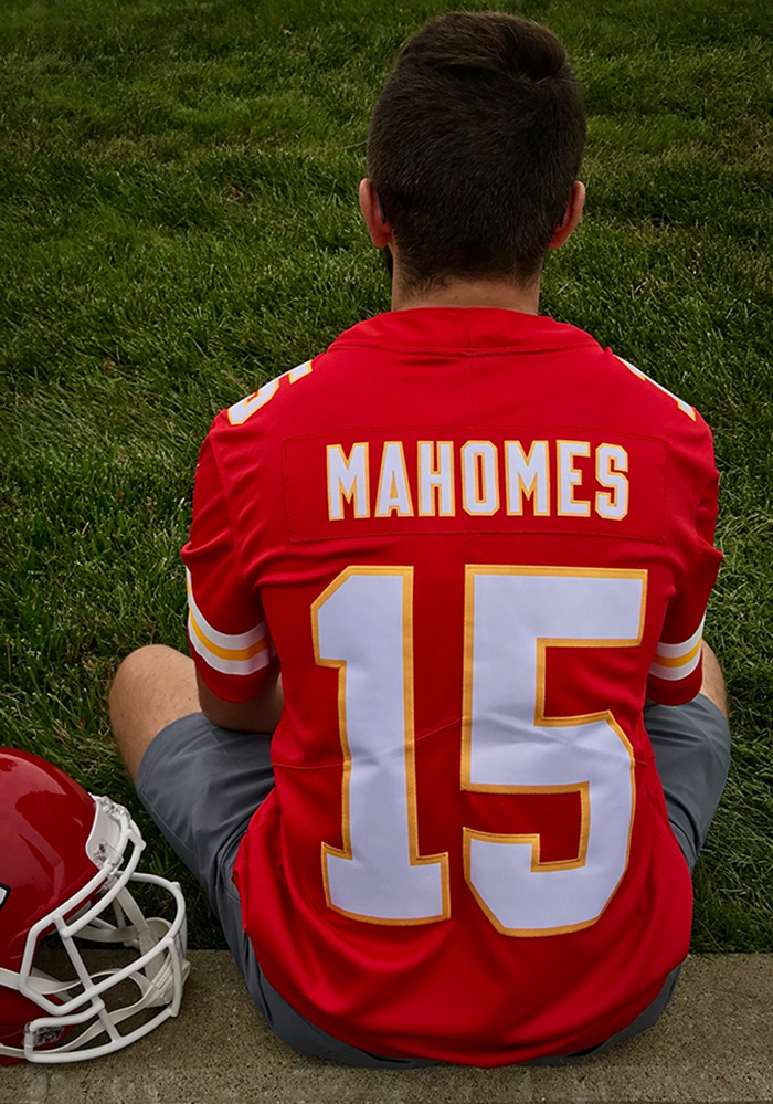 finest selection 442e1 14193 Patrick Mahomes Nike Kansas City Chiefs Mens Red 2018 Home Limited Football  Jersey