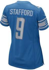 Matthew Stafford Detroit Lions Womens Nike Home Game Football Jersey - Blue