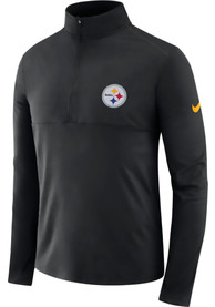 Pittsburgh Steelers Nike Core 1/4 Zip Pullover - Black