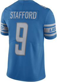 Matthew Stafford Detroit Lions Nike Home Limited Football Jersey - Blue