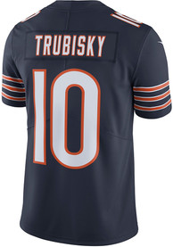 on sale 6fd96 839ea Mitch Trubisky Nike Chicago Bears Navy Blue 2019 Home Jersey