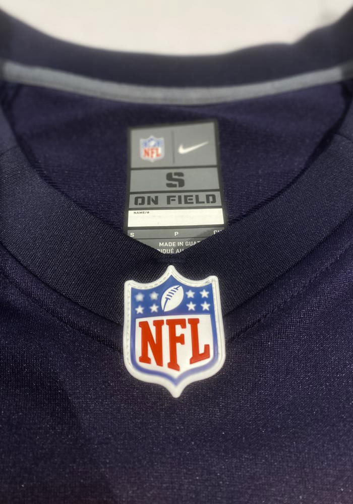 Roquan Smith Nike Chicago Bears Navy Blue Home Game Football Jersey - Image 3