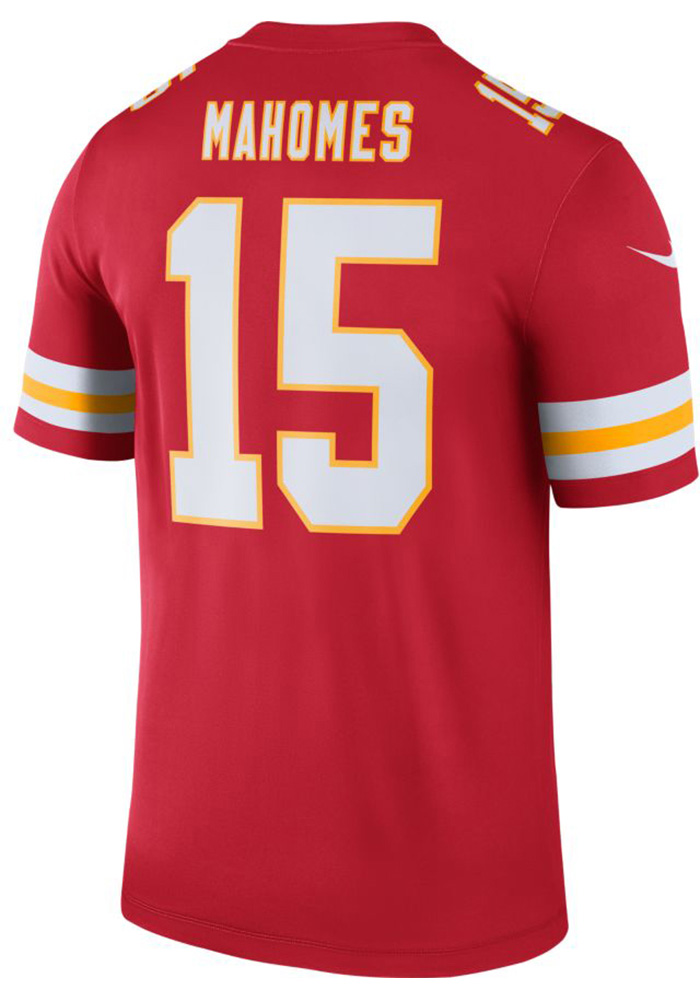 Patrick Mahomes Nike Kansas City Chiefs Mens Red 2018 Legend Football Jersey - Image 2