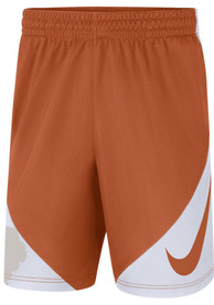 Texas Longhorns Nike Dry HBR Short Shorts - Burnt Orange