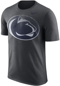 Penn State Nittany Lions Nike Fade Performance T Shirt - Charcoal