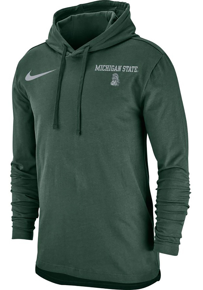 578642e27 Nike Michigan State Spartans Green SJY Club Hoodie