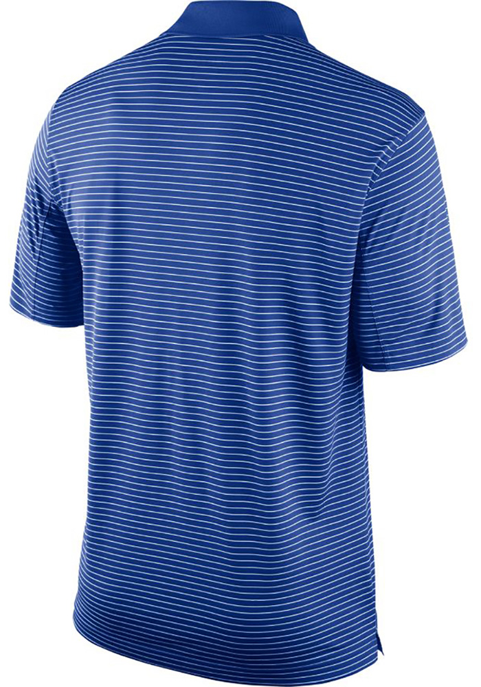 Nike Kentucky Wildcats Mens Blue Stadium Performance Short Sleeve Polo - Image 2