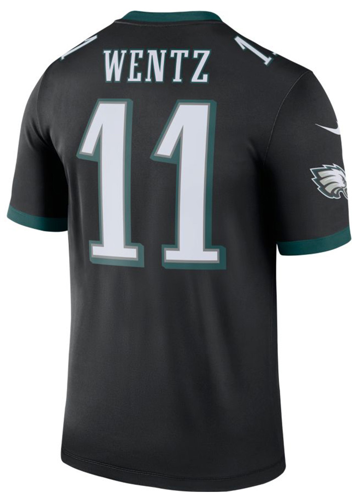 Carson Wentz Nike Philadelphia Eagles Black 2018 Legend Jersey. In Store  Only bbddc191e