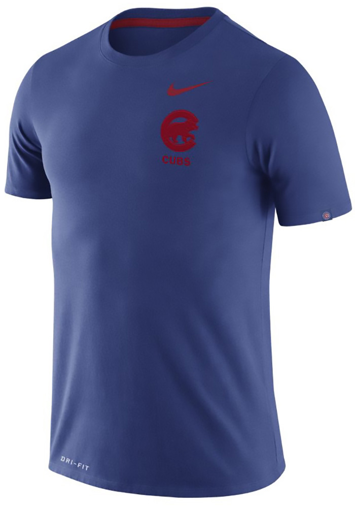 Nike Chicago Cubs Blue TACT Tee