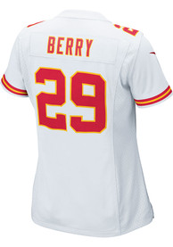 detailed look 34ca0 6f6cb Eric Berry Nike Kansas City Chiefs Womens White Game Jersey Football Jersey