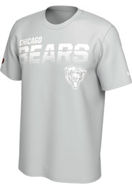Nike Chicago Bears Grey 100 Year Sideline Legend Tee