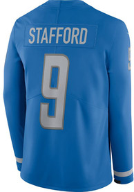 Matthew Stafford Detroit Lions Nike Therma Limited Football Jersey - Light Blue