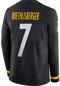 Ben Roethlisberger Pittsburgh Steelers Nike Therma Limited Football Jersey - Black