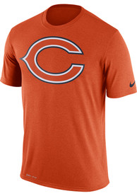 Chicago Bears Nike Logo Essential 3 T Shirt - Orange