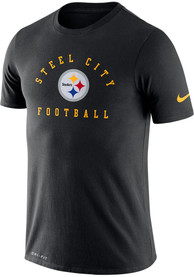 Pittsburgh Steelers Nike DFCT Local PCK T Shirt - Black
