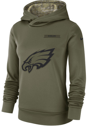 new style 97c51 f4c85 Shop Philadelphia Eagles Salute To Service Sweatshirts ...