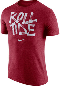 Alabama Crimson Tide Nike Tri Verb T Shirt - Crimson