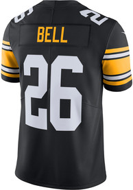 info for f4557 4147b Le'Veon Bell Nike Pittsburgh Steelers Black 2018 Alternate Jersey