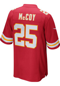 LeSean Mccoy Kansas City Chiefs Nike Home Game Football Jersey - Red