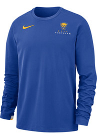 Pitt Panthers Nike Dry Top Sweatshirt - Blue