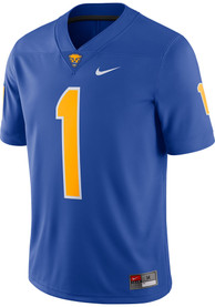 Pitt Panthers Nike Game Home Football Jersey - Blue